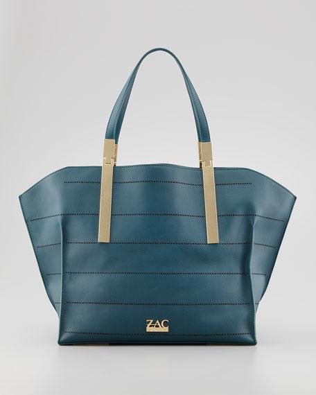 Danes Perforated Shopper Bag, Eclipse