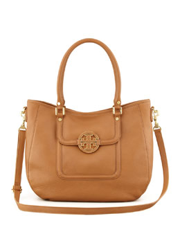 Tory Burch Amanda Hobo Bag, Royal Tan