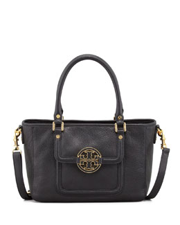 Tory Burch Amanda Mini Satchel Bag, Black