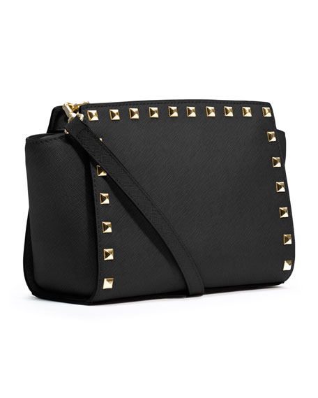 Medium Selma Studded Messenger