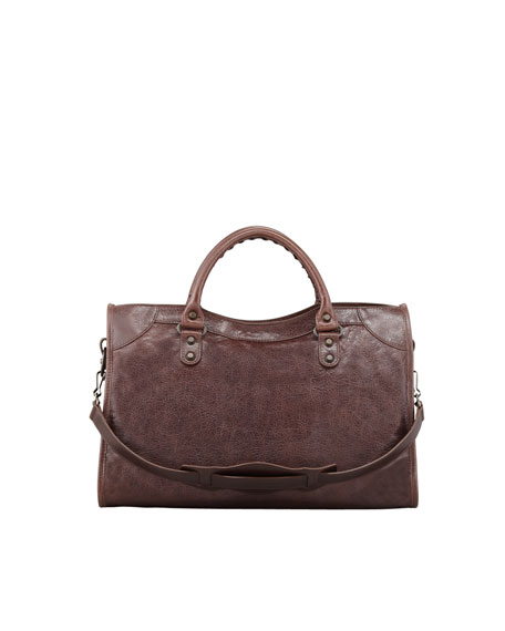 Classic City Bag, Brown