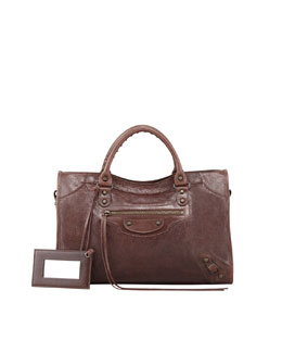 Balenciaga Classic City Bag, Brown