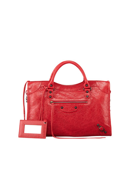 Classic City Bag, Rouge Cardinal