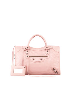 Balenciaga Classic City Bag, Rose Peche