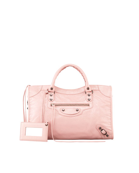 Classic City Bag, Rose Peche