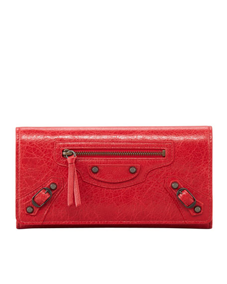Classic Money Wallet, Red