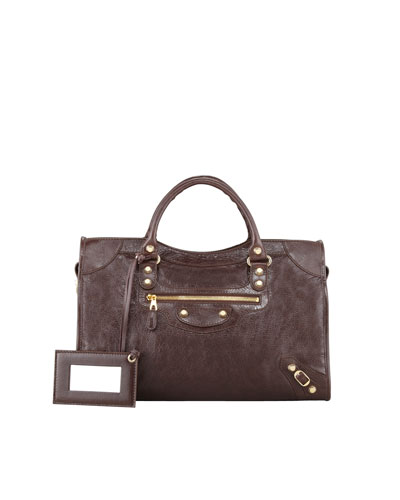 Balenciaga Giant 12 Golden City Bag, Brown