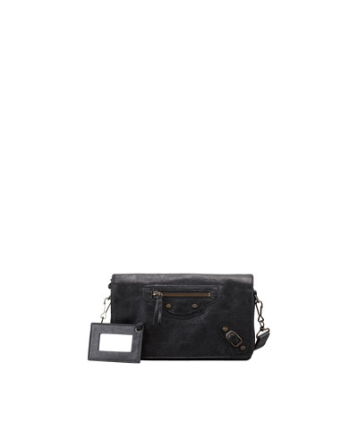 Balenciaga Classic Tool Kit Crossbody Bag, Black