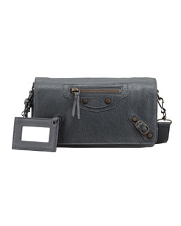 Balenciaga Classic Tool Kit Crossbody Bag, Gray