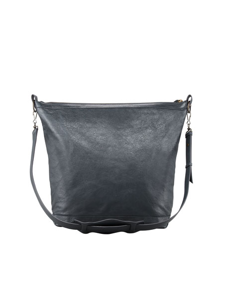 Classic Day Crossbody Bag, Gray