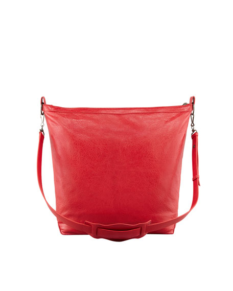 Classic Cross Day Bag, Rouge Cardinal