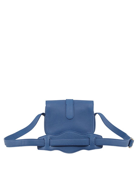Tube Crossbody Bag, Blue