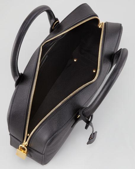 Museum Small Borsa Satchel Bag, Black