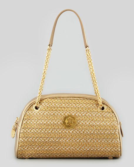 Lil Squishee Metallic Shopper Bag