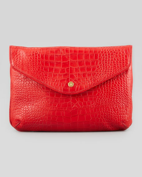 Olivia Clutch Bag, Red