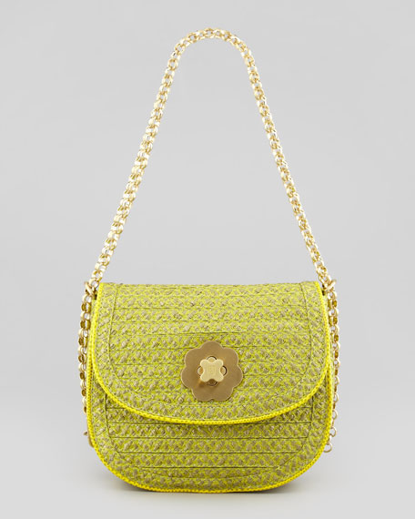 Oh Baby Squishee Shoulder Bag, Keylime