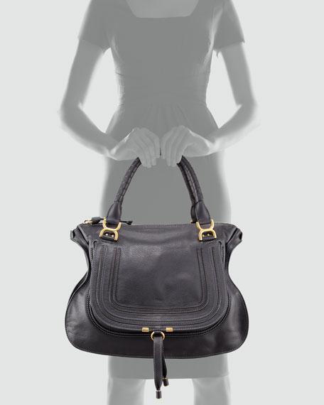 Marcie Large Shoulder Bag, Black