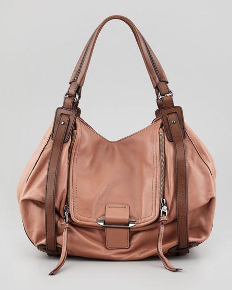Jonnie Hobo Bag, Brown