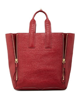 3.1 Phillip Lim Pashli Large Zip Tote Bag, Red