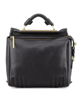3.1 Phillip Lim Ryder Small Leather Crossbody Bag, Black