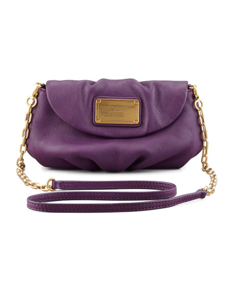 Classic Q Karlie Crossbody Bag, Purple