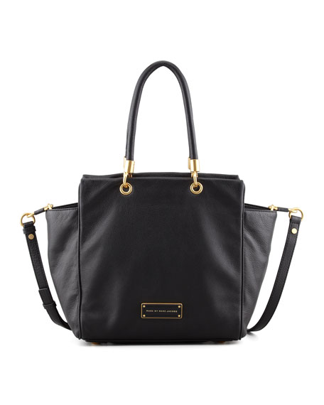 Too Hot to Handle Bentley Tote Bag, Black