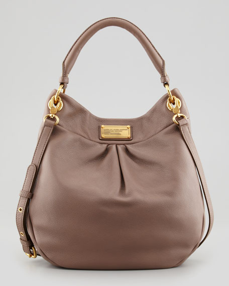 marc by marc jacobs classic q hillier hobo bag brown. Black Bedroom Furniture Sets. Home Design Ideas