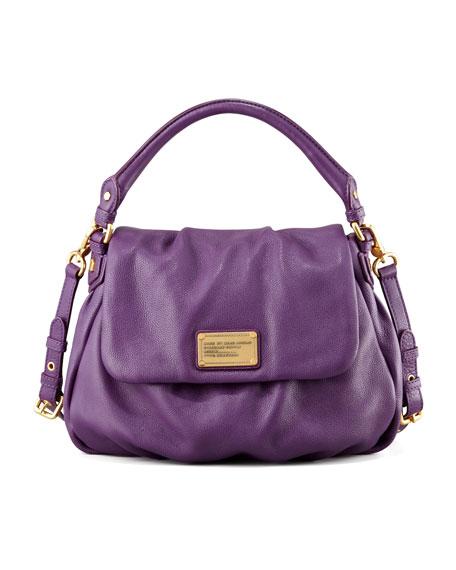 Classic Q Lil Ukita Satchel Bag, Purple