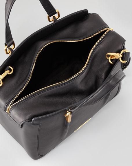 Get a Grip Large Satchel Bag, Black