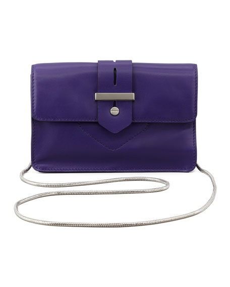 Bradley Mini Crossbody Bag, Purple