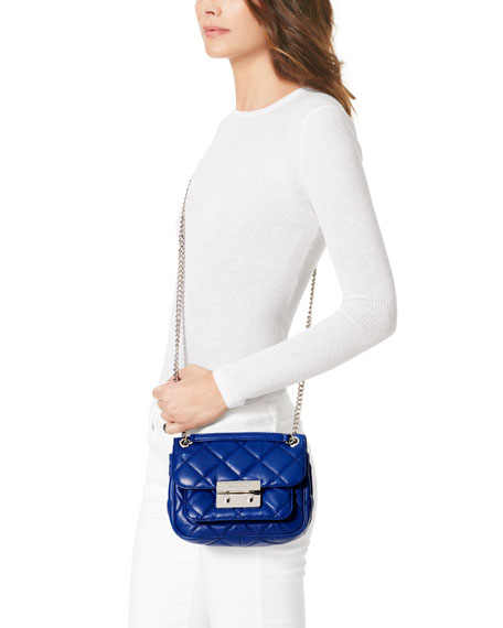 aed512aea8f5 MICHAEL Michael Kors Small Sloan Quilted Shoulder Bag