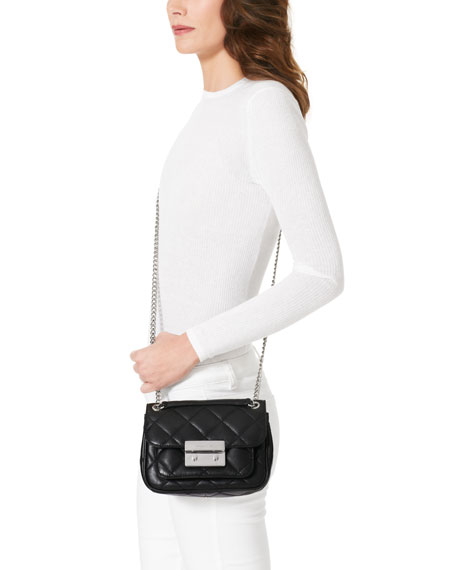 Small Sloan Quilted Shoulder Bag