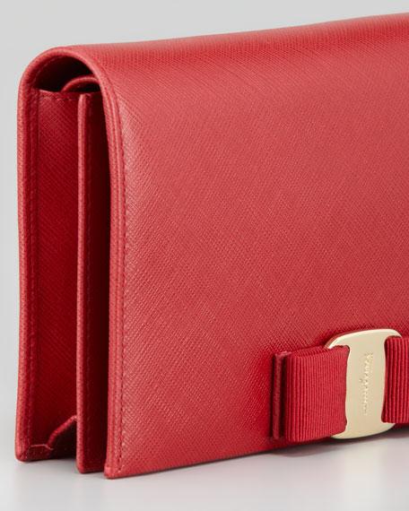 Vara clutch bag - Red Salvatore Ferragamo hYzuPP