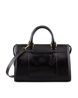 "Belstaff Catherine ""Box"" Shoulder Bag, Black"