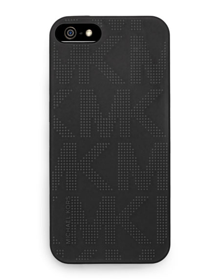 Logo-Print iPhone Cover