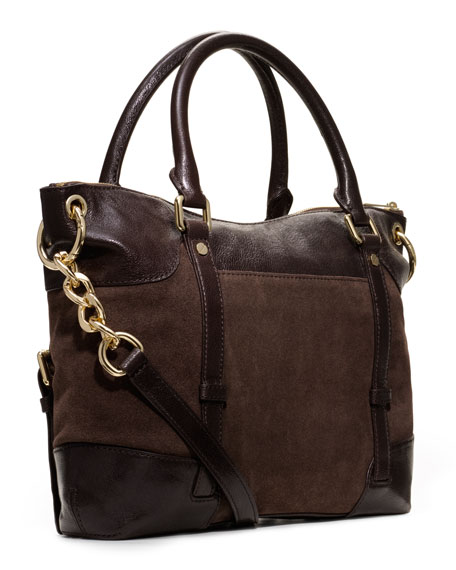 Large McGraw Buckled Satchel