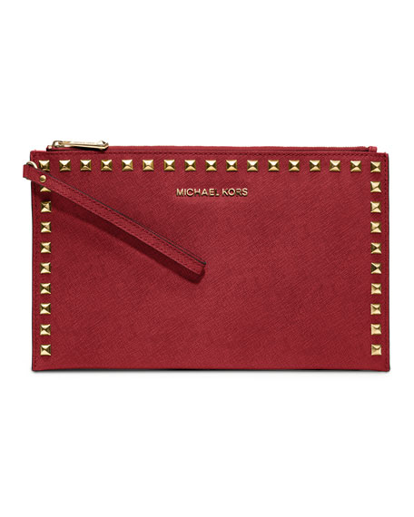 Large Selma Studded Clutch