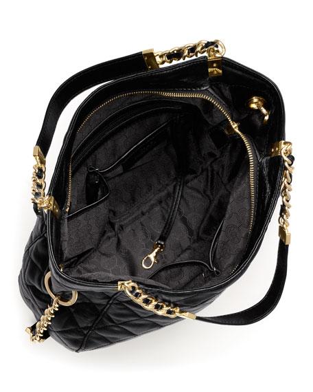 Medium Susannah Quilted Shoulder Bag