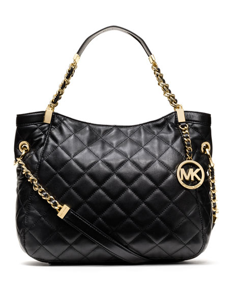 Medium Susannah Quilted Shoulder Bag