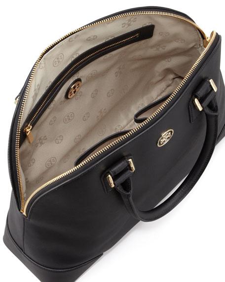 63dc1e830af Tory Burch Robinson Dome Satchel Bag