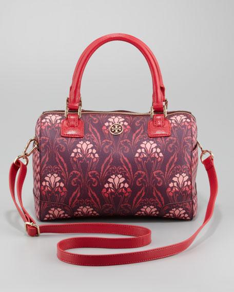 Robinson Middy Satchel Bag, Red Multi