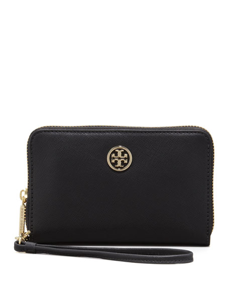 Robinson Smart-Phone Wristlet Wallet, Black