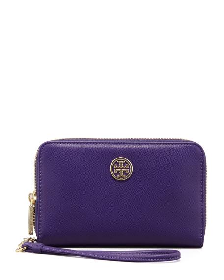 Robinson Smart-Phone Wristlet, Purple