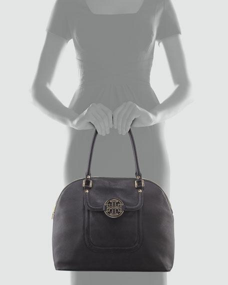 Amanda Dome Tote Bag, Black