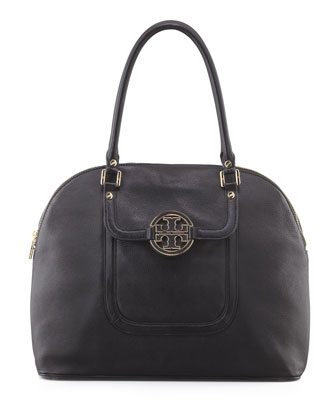 Amanda Dome Tote Bag, Black