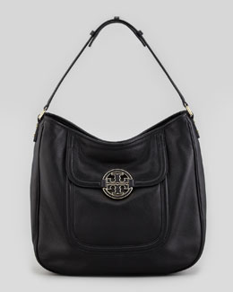 Tory Burch Amanda Slouchy Hobo Bag, Black