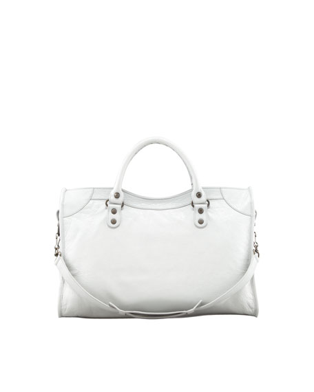Classic City Bag, Gris Glace