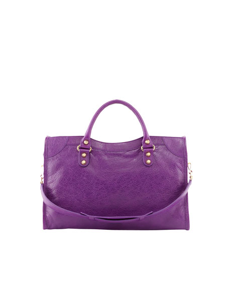 Giant 12 Golden City Bag, Ultraviolet Purple
