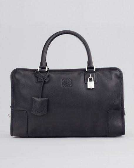 Amazona Leather Bag, Black