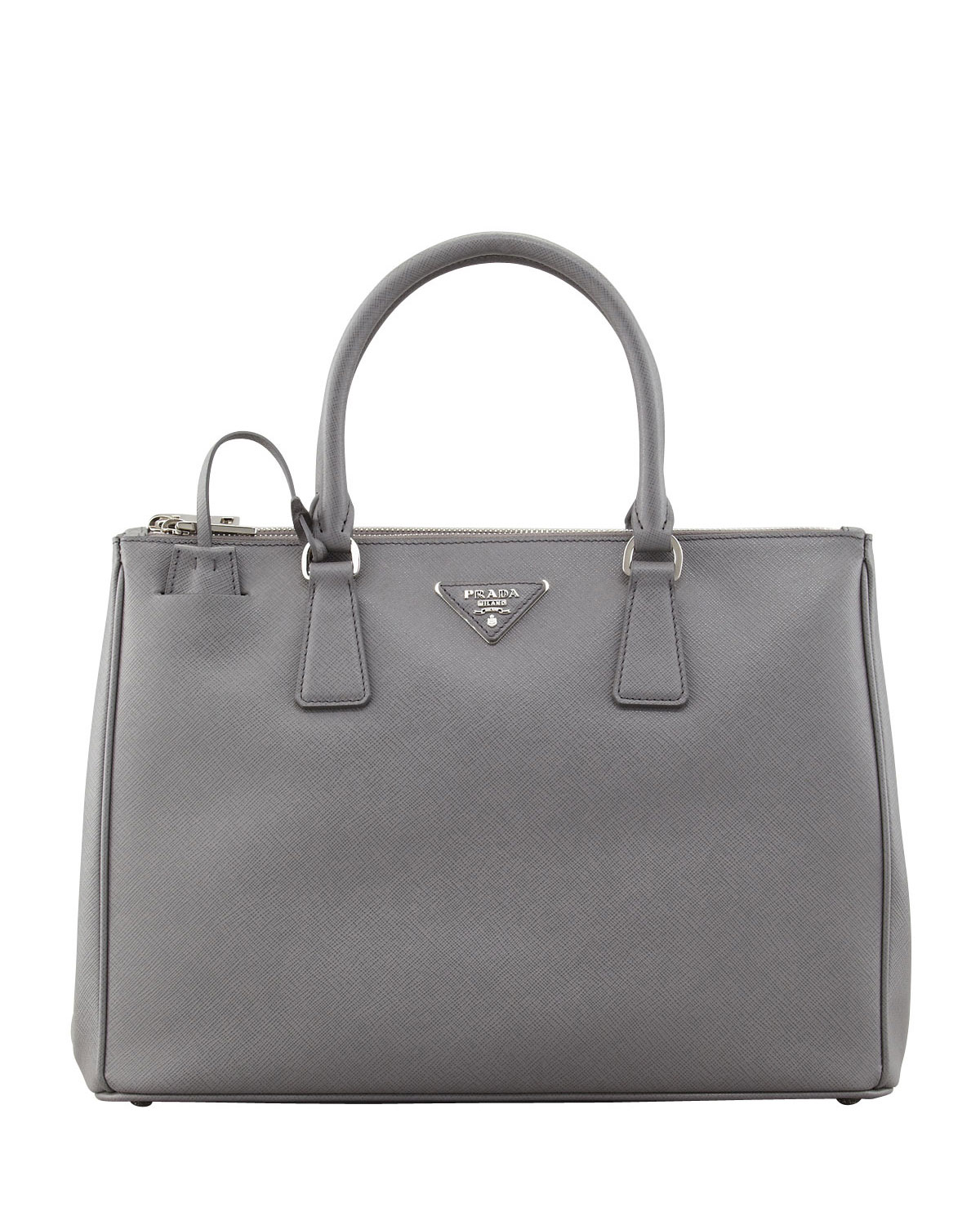 65a179f25995 Prada Saffiano Double-Zip Executive Tote